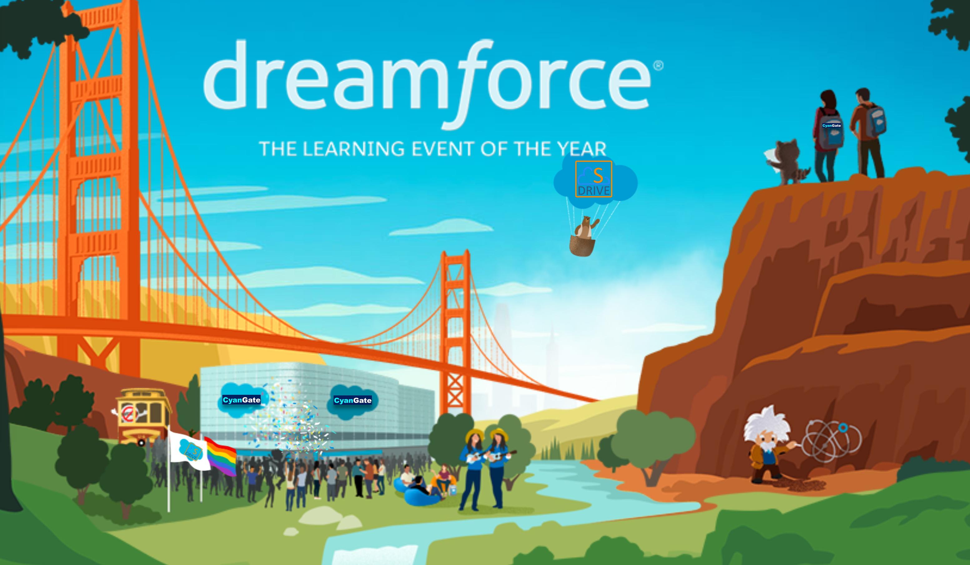 CyanGate » Dreamforce 2018 on
